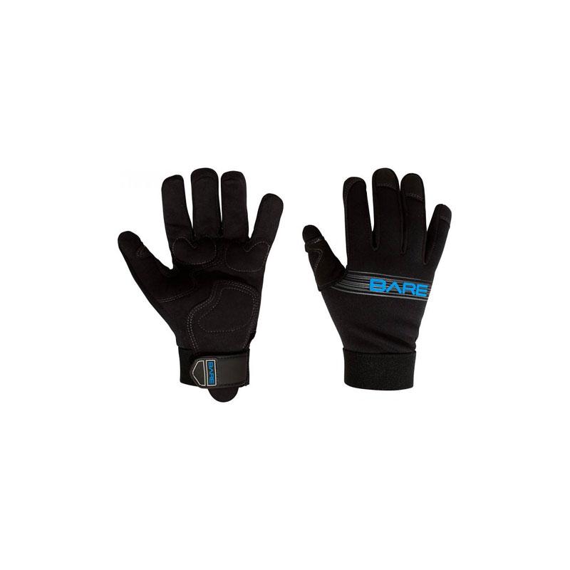Bare glove
