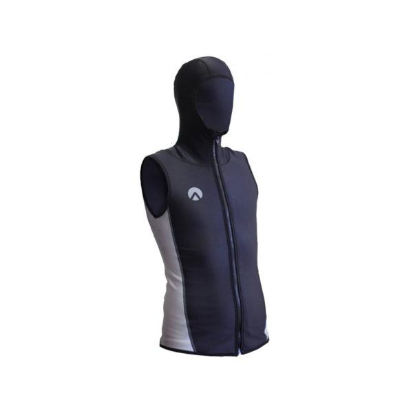Sharkskin Hooded Vest